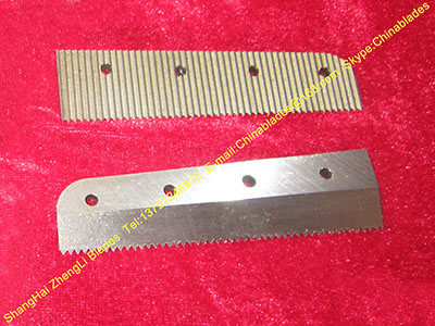 packaging machinery shearing blades, film packaging dotted line cutting knife, pearl milk tea packing machine cutter
